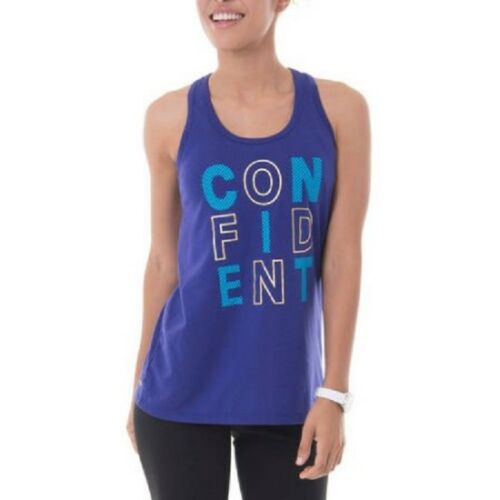 16-18 XL Danskin Now Women/'s Fitspiration Active Graphic Tank Size 4-6 Small