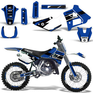 Yamaha-YZ125-YZ250-Graphic-Kit-Dirt-Bike-Decal-YZ-125-250-1991-1992-HURRICANE-U