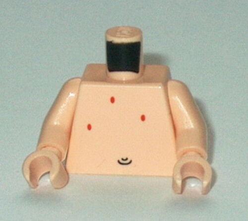 TORSO M022 Lego Light Flesh Bare Chest w//belly button NEW Patrick Genuine Lego