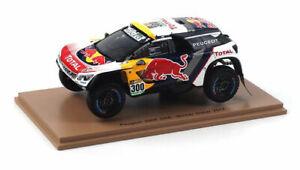 Peugeot 3008 R Bull S. Peterhansel / J.P.Cottret winner Dakar 2017 - 1:43 Spark