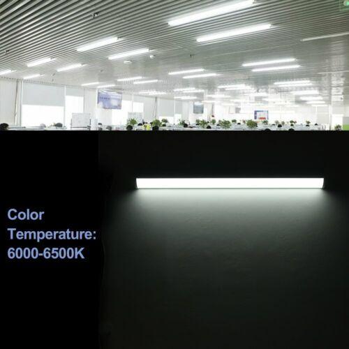 Fluorescent 4ft LED Strip Lights IP64 Waterproof Garage Wall Shed Workshop 6000K
