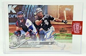 2019-Topps-Archives-Signatures-White-Sox-Star-TIM-ANDERSON-Auto-Card-65-95-NEW