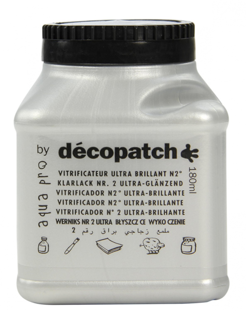 Decopatch 180 ml Sealing Varnish, Ultra-Glossy No2
