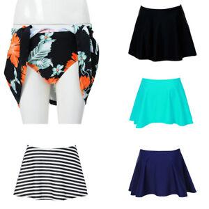 bb372c1f09 Women Bikini Bottom Tankini Swim Short Skirt Cover Up Beach Dress ...