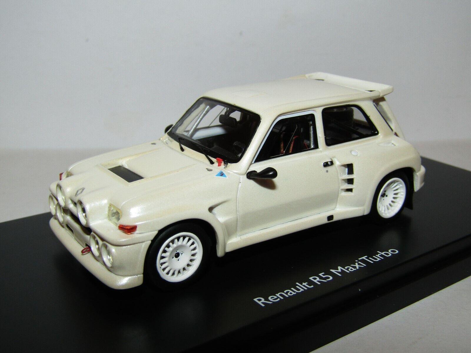 Schuco résine RENAULT R5 MAXI TURBO PEARL blanc 1 43 édition limitée de 500