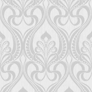 Image Is Loading Grandeco Art Nouveau Damask Pattern Wallpaper Deco