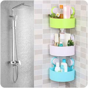 Etag re de salle de bain coin douche support de tablette for Support de salle de bain