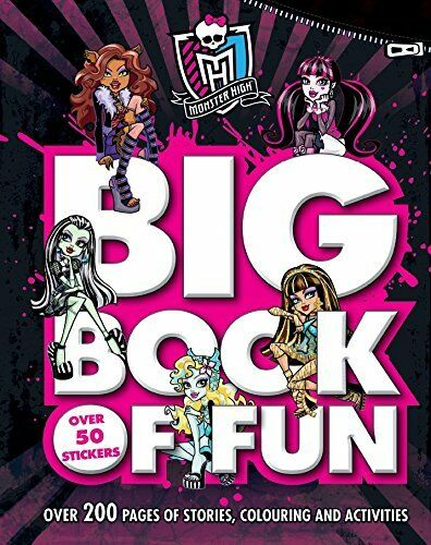 Monster High Big Book of Fun By Mattel