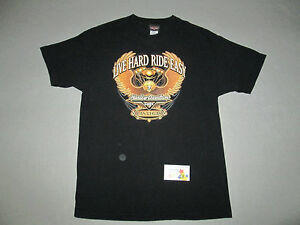 Harley Davidson shirt t shirt Black Las Vegas NV HD Cafe Motorcycle