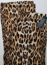 NWT Lauren by Ralph Lauren  Leopard Print Wide Leg Pant Palazzo Plus Size 2X