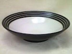 DENBY INTRO STRIPES BLACK CEREAL BOWL   eBay