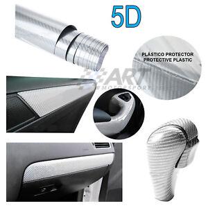 Vinilo-de-fibra-de-carbono-plata-5D-150X30cm-para-Bmw-E90-E91-carbon-fiber-vinyl