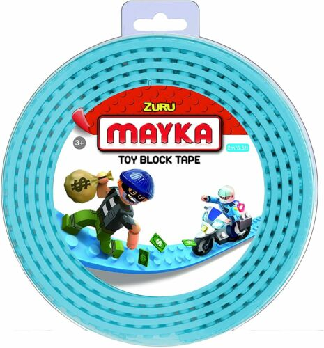 BRICK TAPE ZURU MAYKA TOY BLOCK ADHESIVE 2M 2 STUD CHRISTMAS STOCKING FILLER