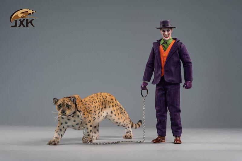 Jxk 1 12  Jxk021A Gituttio Leopardo Giaguaro Pantera cifra Statua modellolololo W doppia testa  moda classica