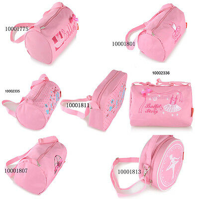 Girls Kids Cute Pink Ballet Dance Bags Luggage Bag HandBag Tote Bag Shoulder Bag