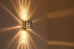 Lampada da parete design moderno applique corridoio 1x33w