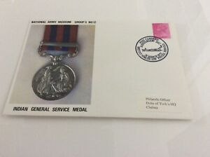 Commemorative Cover Indian General Service Medal Nam Groupe 5#12 28/03/72-afficher Le Titre D'origine Attrayant Et Durable