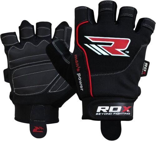 "RDX Trainingshandschuhe /""Power/"",Gym Bodybuilding Fitness Gewichtheber Handschuhe"