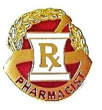 Pharmacist Pharmacy Mortar Pestle RX Professional Medical Lapel Pin 117 New