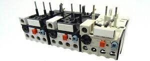3x Klöckner Moeller Protection Moteur Relais Z00-0, 6 Surcharge Relais Overload Relay 0,6 A-ais Z00-0,6 Überlastrelais Overload Relay 0,6a Fr-fr Afficher Le Titre D'origine