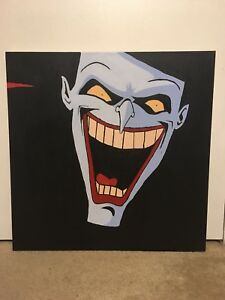 Details About Animation Painting Art Print Canvas The Joker Wall Decor 24x24