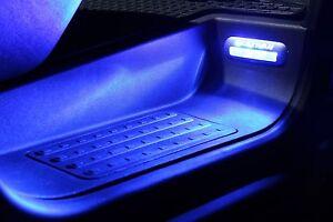Contemplatif 8 X Del Pour Vw T5 T6 Multivan Entrée éclairage Marches éclairage Bleu-htung Trittstufenbeleuchtung Blau Fr-fr Afficher Le Titre D'origine