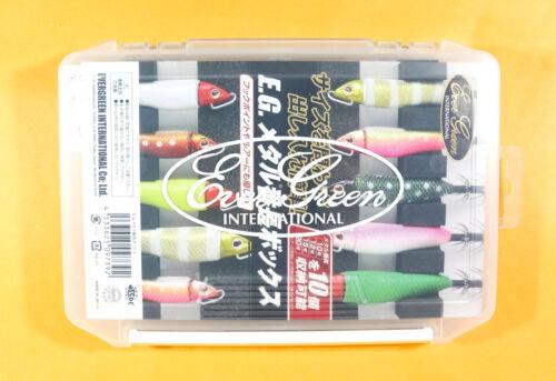 7392 Evergreen Tackle Box Metal Bancho Squid Jig Size 10-20 205x145x28mm