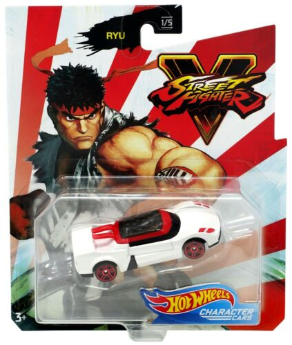 Hot Wheels GJJ30 Capcom Street Fighter personnage voitures Ryu 1//5