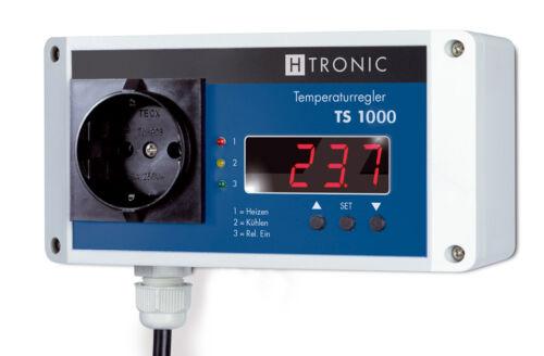 Temperaturschalter TS1000+PT1000 Gewindefühler,Temperatur perfekt schalten!