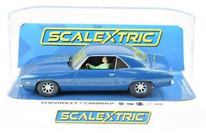 Scalextric-1969-Chevrolet-Camaro-ZL1-COPO-DPR-W-Headlights-1-32-Slot-Car-C4074
