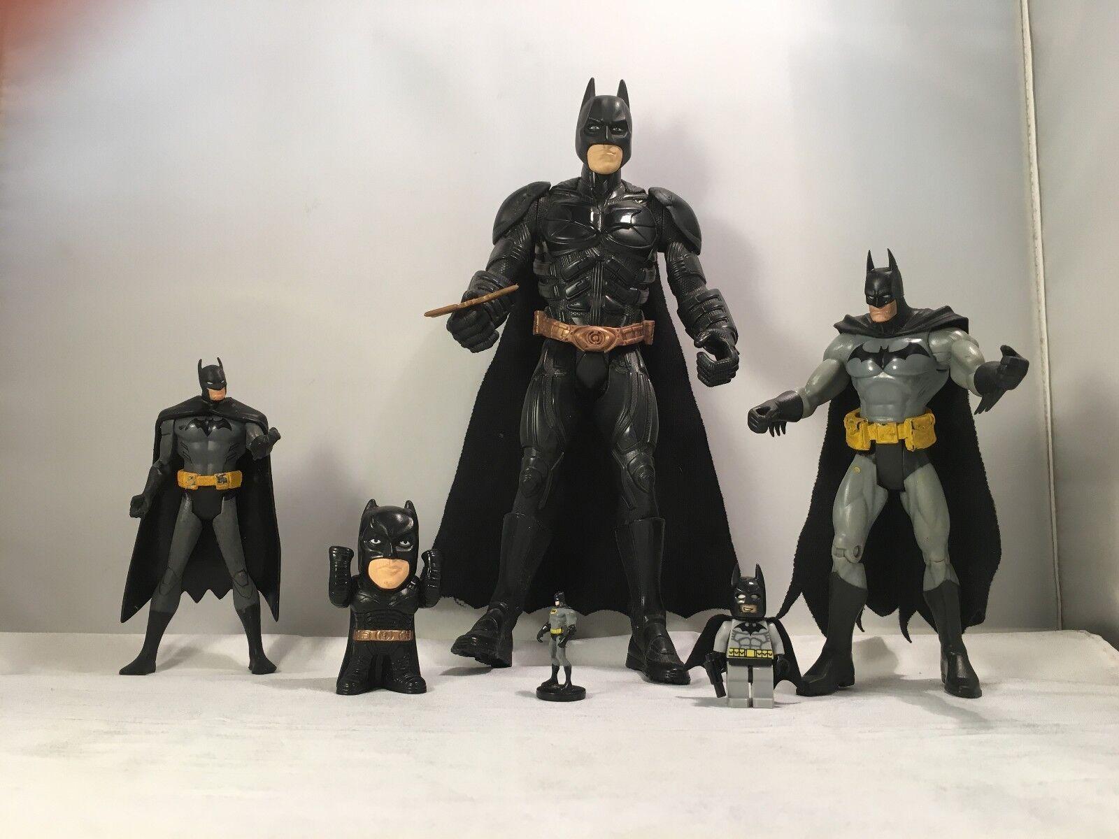 Batman – 6 Pieces Action Figures Collectables