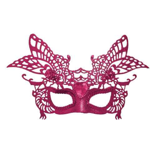 Christmas Choose Colour New Year Party Glitter Masquerade Mask with Gem