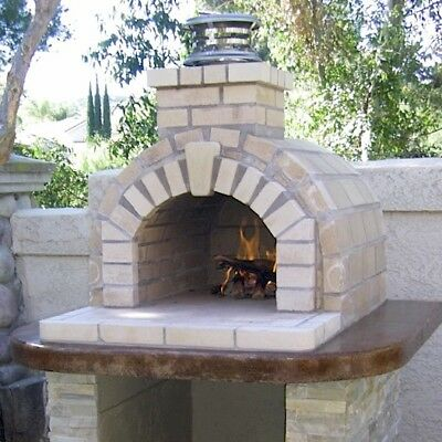 Outdoor Fireplace Kits Or Outdoor Pizza Oven Kits Build A