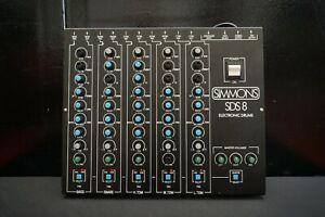 Simmons-SDS8-Drum-Brain-Rare-Vintage-Analogue-Synthesiser-Drum-Machine-100V