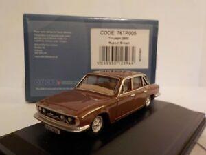 TRIUMPH-2500-Marrone-modellini-di-automobili-Oxford-Diecast-1-76