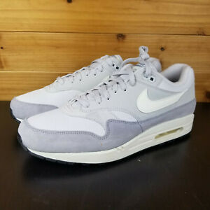 36ddf5c35ca Details about Nike Air Max 1 Men's Shoes Vast Grey/Sail-Wolf Grey (AH8145  011) AM1 AM87
