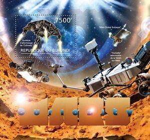 Mars Curiosity Space Probe s/s Burundi 2012 Sc 1174 #BUR12515b - Olsztyn, Polska - Mars Curiosity Space Probe s/s Burundi 2012 Sc 1174 #BUR12515b - Olsztyn, Polska