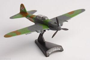 Avion-de-combate-DELPRADO-Ilyushin-Il-II-SHTURMOVIK-Diecast-Escala-1-103-AVI020