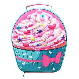 4c3ff7067087 EVA Lunch Bag Cupcake Girls Insulated Lunch Box Lunch Cooler New | eBay