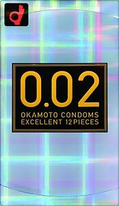 NEW-Japan-OKAMOTO-ZERO-ONE-002-0-02-Polyurethane-Condom-12Pcs-1box-Free-Shipping