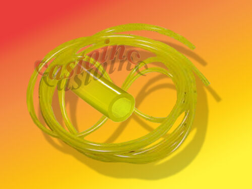 """10 Ft Tygon Clear Yellow Gas Fuel Line ID 1//4/"""" OD 3//8/"""""""
