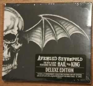 Hail to the king deluxe cd mp3 digipak by avenged sevenfold image is loading hail to the king deluxe cd mp3 digipak voltagebd Gallery