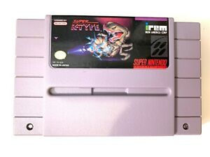 Super-R-Type-SNES-Super-Nintendo-Game-Tested-Working-amp-Authentic