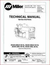 Millermatic Aead 200le Technical Manual Eff With Hk253765 Aead 200l Ja344349