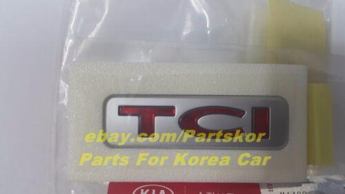 For KIA PICANTO MORNING TCI TURBO Rear Emblem Genuine Part OEM