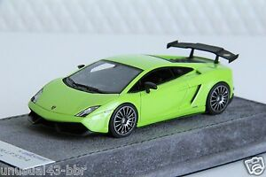 1-43-Looksmart-Lamborghini-LP570-Blancpain-Ithaca-Verde-Free-Shipping-MR-BBR