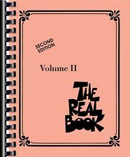 The Real Book Volume II Sheet Music C Edition Real Book Fake Book NEW 000240222