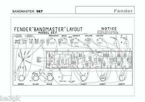 Details about Fender Amplifier Schematics * Owners Manuals * DVD * on