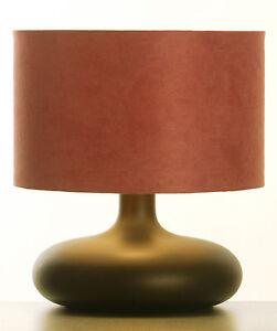 LAMPE-a-Poser-de-Chevet-en-BOIS-TOURNE-Finition-Wenge-de-Style-Retro