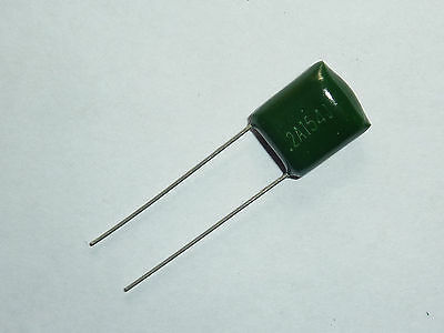 10pcs 2A154 0.15uf 150nf 150000pf 100V Mylar Film Capacitor